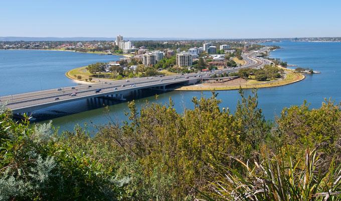 Blick über den Swan River