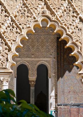 Arkadengang des Alcázars