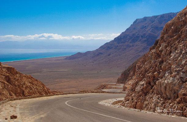 Fahrt auf das Diksam Plateau