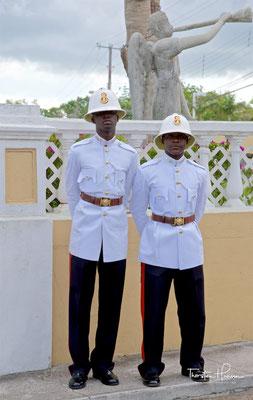Polizisten in Nassau
