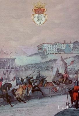 1700 beauftragte die Familie Brandolini den Architekten und Grafen von Treviso, Ottavio Scotti, mit der Planung und dem Bau einer Erweiterung des südlichen Teils des Schlosses