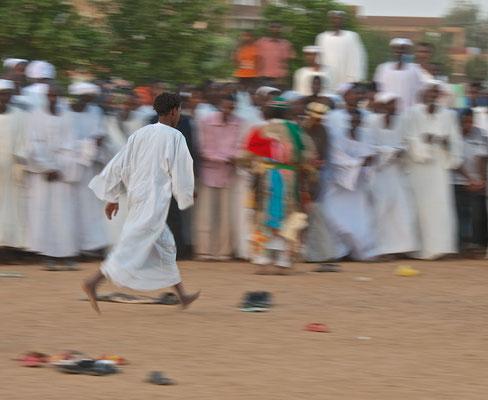 Dikr-Fest des Qadiriya-Ordens in Khartoum