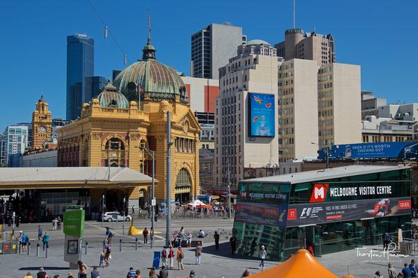 Stadtzentrum von Melbourne