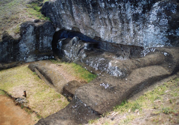 Steinbruch auf der Osterinsel