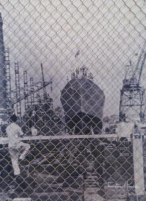 1956 HMAS Vampire Launch
