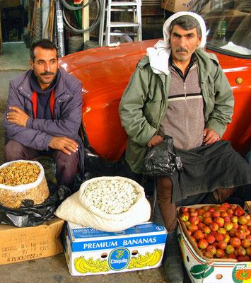 Auf dem Souq von Damaskus