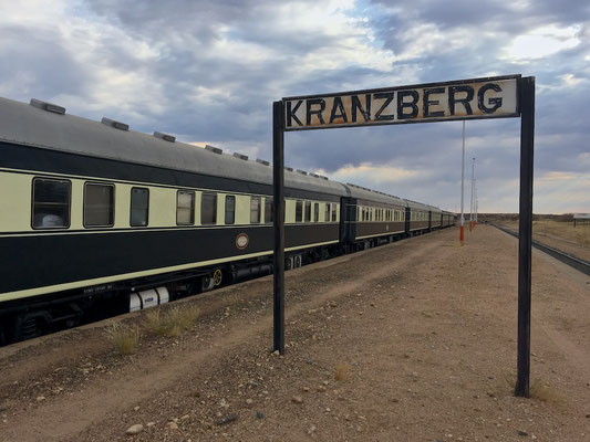 Mit dem African Explorer / Shongololo Train in Kranzberg
