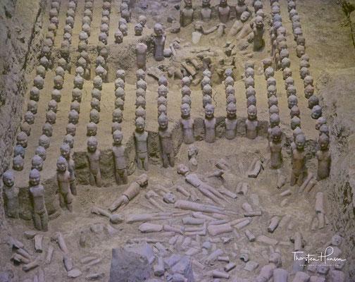 Das Mausoleum Han Yang Ling in Xi'an