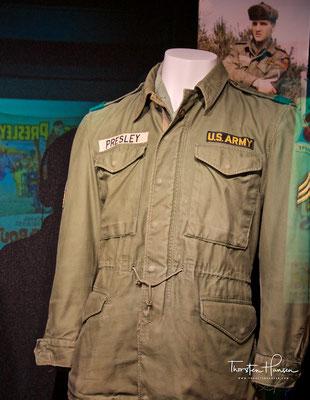 Elvis´s Army Uniform