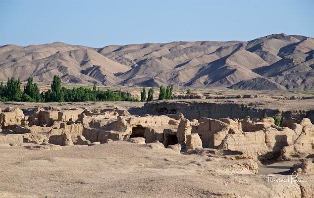 Ruinen- und Oasenstadt Jiaohe