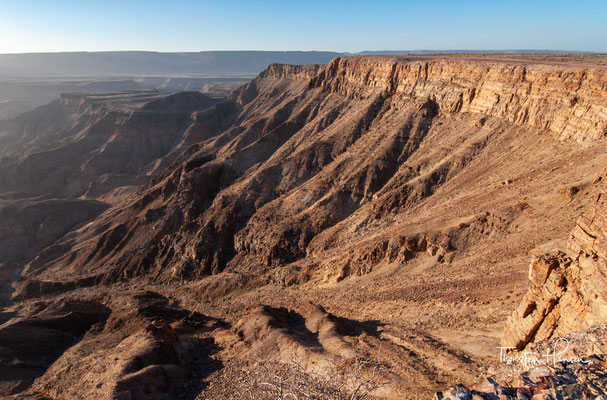 Man stelle sich heute vor: Eis im Canyon!