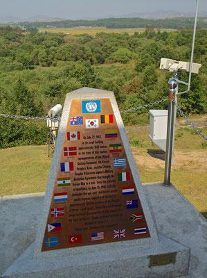 Kriegsendedenkmal in der DMZ