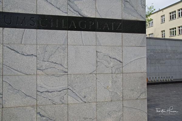 Das Umschlagplatz-Denkmal in Warschau