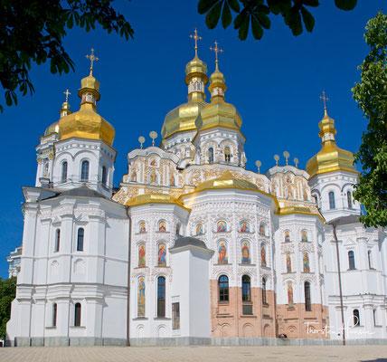 """Das Kiewer Höhlenkloster ist eines der ältesten orthodoxen Klöster der Kiewer Rus. Die nachweislich ältesten Erwähnungen der Höhlen finden sich in der bedeutenden """"Chronik der vergangenen Jahre"""", der """"Nestorchronik"""" gennant aus dem 12. Jh."""
