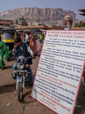 Die Maharajas von Jodhpur traten, wie so viele andere Rajputenfürsten auch, in die Dienste der Herrscher von Delhi.