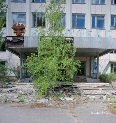 Das Rathaus von Prypjat