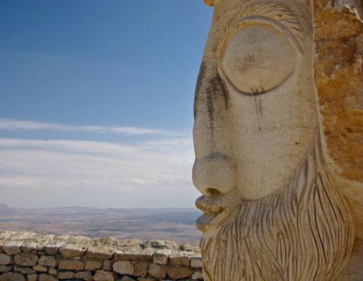 Der Machtesch Ramon oder Ramon-Krater (hebräisch מכתש רמון) ist der größte Erosionskrater in der Wüste Negev