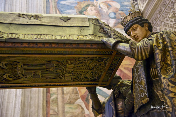 Grabgelege von Christus Columbus in der Giralda