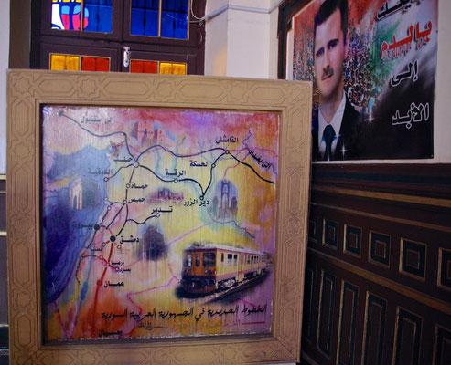 Hejaz Bahnhof in Damaskus