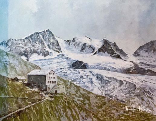 Im Laufe seiner nun über 100-jährigen Geschichte wurde das Karwendelhaus mehrmals erweitert und modernisiert. Ihren ursprünglichen Charakter hat die Unterkunft dabei nicht verloren.