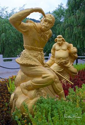 Skulptur in Lanzhou