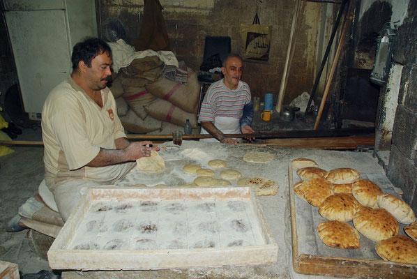 Beim Bäcker in Damaskus