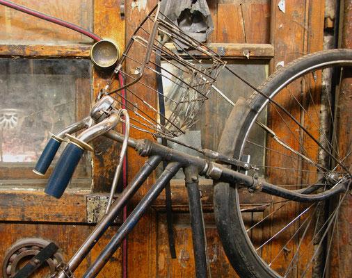 Altes Fahrrad in Damaskus