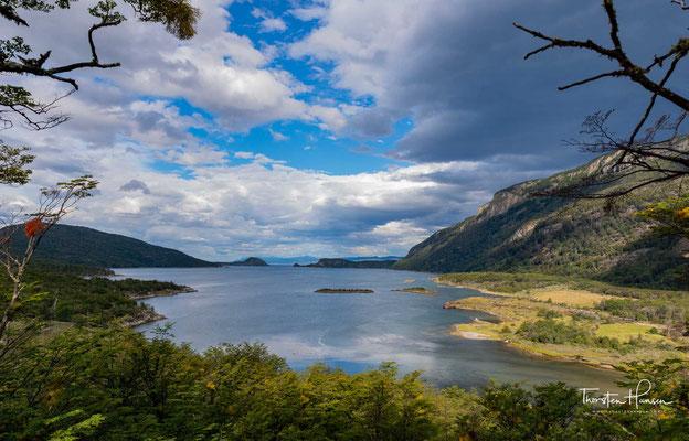 Lapataia-Bucht in Tierra del Fuego National Park, Argentinien.