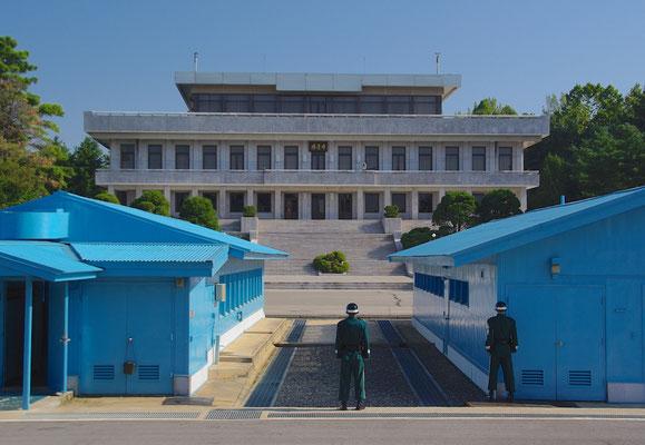Südkoreanische Soldaten in Panmunjom