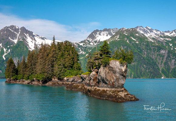 """Als Ölhafen erlebte Valdez in den folgenden Jahren einen wirtschaftlichen Aufschwung. Am Karfreitag des Jahres 1989 erschütterte die Nachricht über das Öltankerunglück der """"Exxon Valdez"""" die ganze Welt."""
