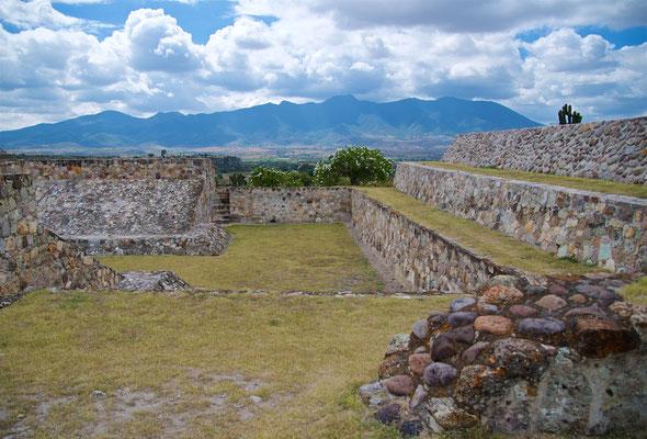 Präkolumbische Stadtanlage Yagul