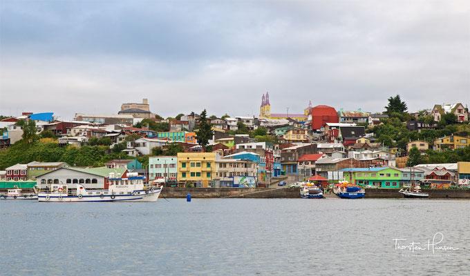 Ankunft auf der Insel Chiloe