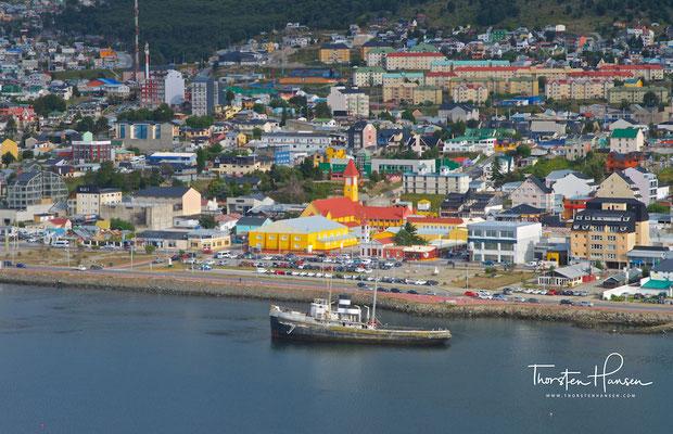 Auch als Ausgangspunkt für Antarktisexpeditionen und Zwischenhalt für Kreuzfahrtschiffe ist Ushuaia beliebt.