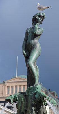 Havis Amanda, eines der Wahrzeichen von Helsinki