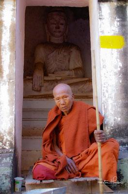 Jenseits des Chindwin-Flusses, gibt es bei dem Dorf Minzu Hunderte von Höhlen mit Tausenden von Buddha-Statuen und vielen gut erhaltenen Wandmalereien aus dem 17. und 18. Jahrhundert.