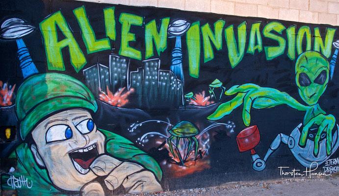 Alien Stadt Roswell