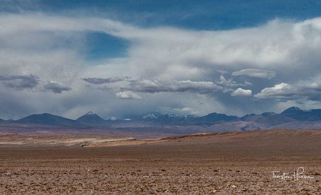 Das über 5000m hohe Chajnantor-Plateau in der nähe von San Pedro de Atacama