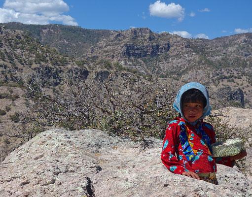 Rarámuri Indianer in Creel und im Kupfer Canyon