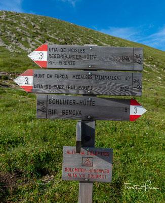 Nach dem Ende des Zweiten Weltkriegs fiel die Hütte in den Zuständigkeitsbereich der Sektion Brixen des Italienischen Alpenvereins (CAI). Im Jahre 1999 wurde das Schutzhaus Eigentum der Autonomen Provinz Bozen-Südtirol.