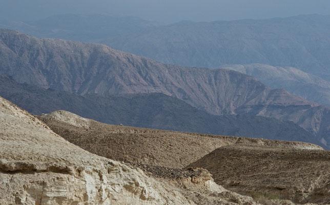 Landschaft am Toten Meer