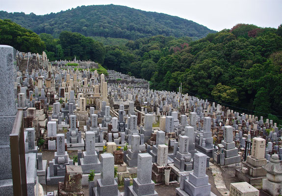 Friedhof in Kyoto
