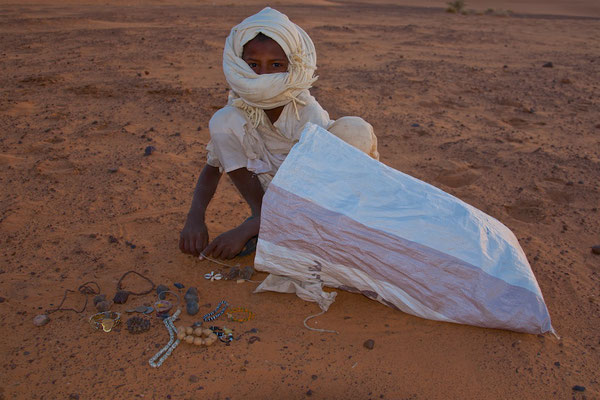 Übernachtung in der Wüste bei Meroe