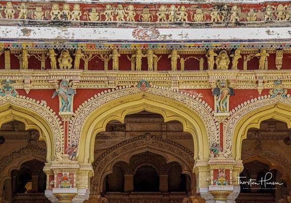 Eine weitere Sehenswürdigkeit Madurais ist der Tirumalai-Nayak-Palast im östlichen Teil der Altstadt.