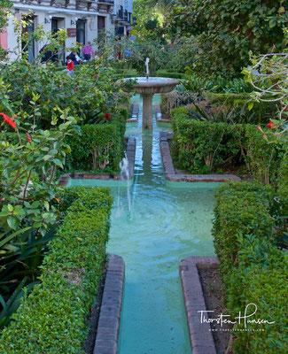 Garten der Kathedrale von Malaga