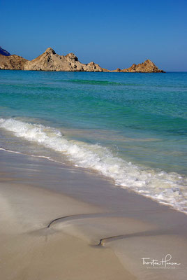 Qalansiyah Strand und Lagune