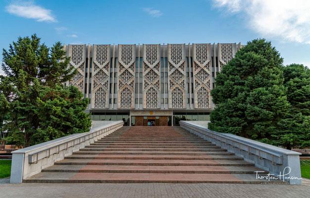 Das Nationale Geschichtsmuseum in Taschkent