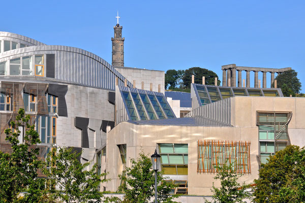 Schottisches Parlament in Edinburgh