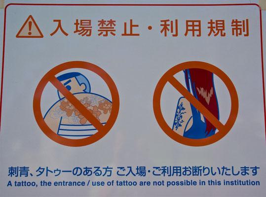 Japanisches Tattooverbot