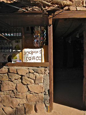 Starbucks auf dem Berg Sinai