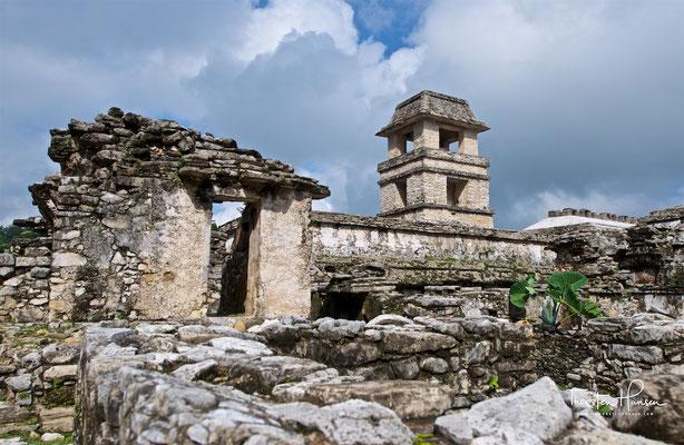 Der Palast in Palenque